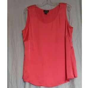 Russell Kemp Coral Lined Top size 0X